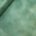 Col. 4 Emerald Green 100% Cotton Fabric By Fabric Freedom Glitter Sparkle Plain Patchwork Quilting Weight