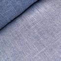 Royal Blue 100% Polyester Fabric Melange Linen Look Dressmaking Curtains 145cm Wide