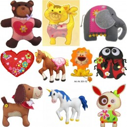 Animal Kleiber Felt Toy Kit