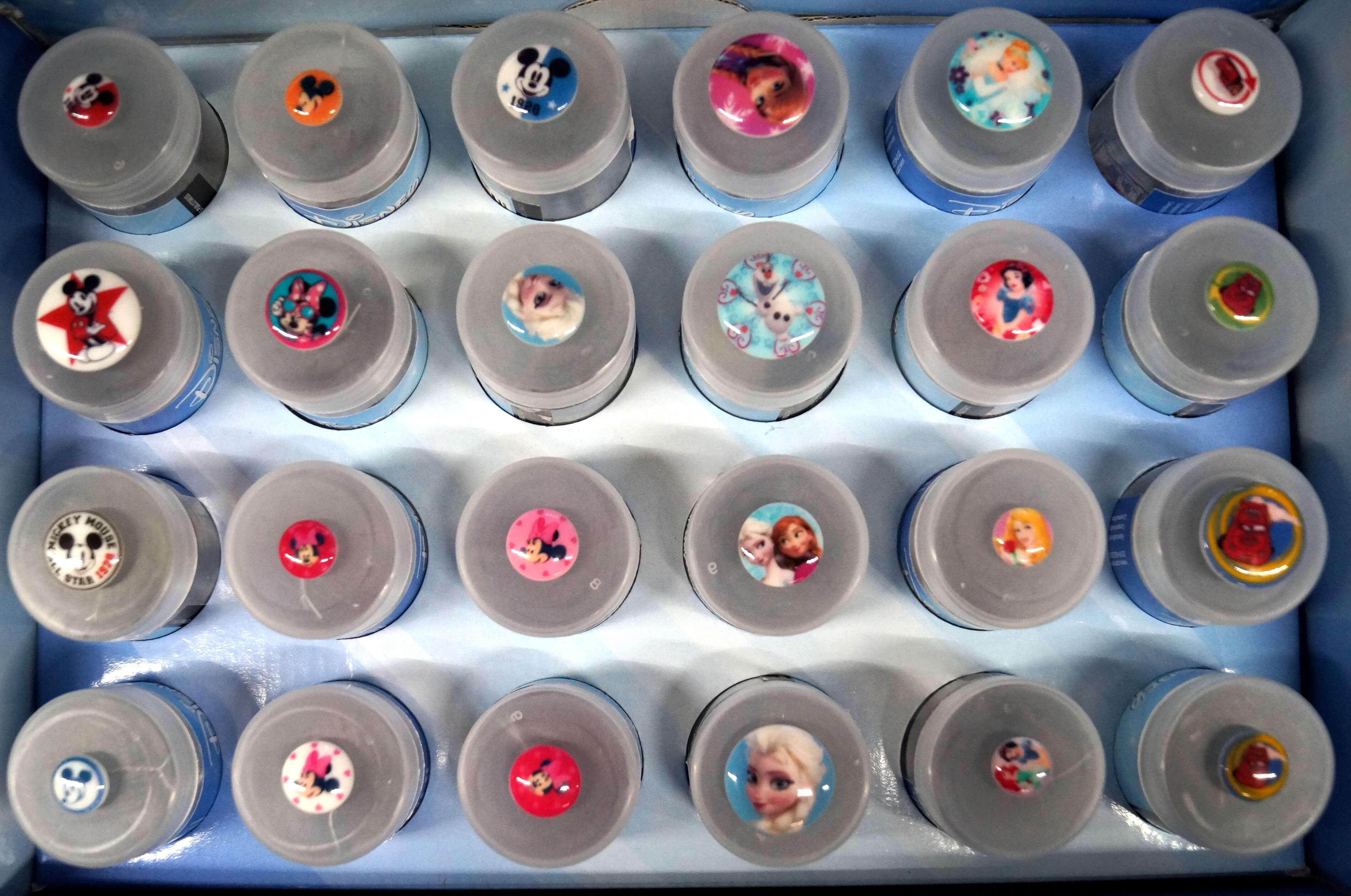 Design 21 Disney Princess Shank Back Buttons