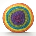 Sirdar Colourwheel DK Double Knit Knitting Yarn Cake 150g Ball Follow the Rainbow