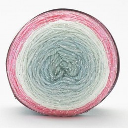 Sirdar Colourwheel Dazzle DK Double Knit Knitting Yarn Cake 150g Ball Pretty in Pink