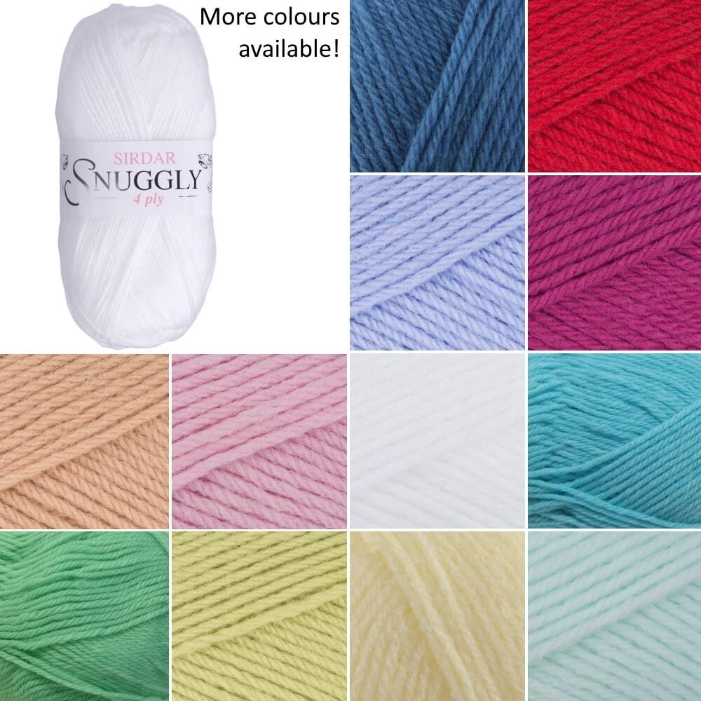 Sirdar Snuggly 4 Ply Baby Knitting Yarn Craft Wool 50g Ball Tutu