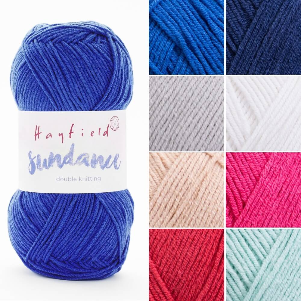 Sirdar Hayfield Sundance DK Double Knit Knitting Yarn 100g Ball Whitesands
