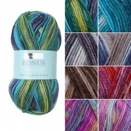 Sirdar Hayfield Bonus Breeze Extra Value DK Double Knit Knitting Yarn 100g Ball