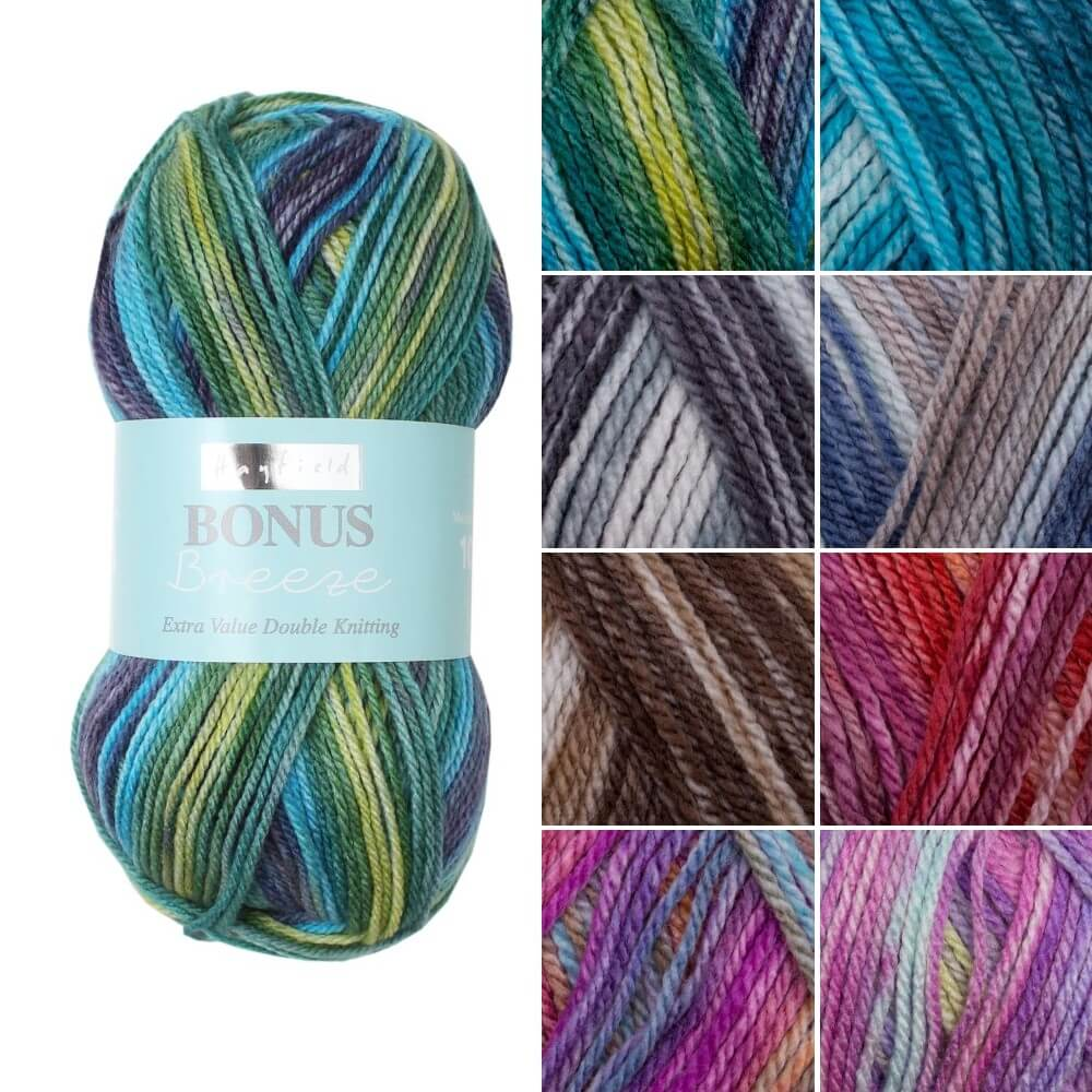 Sirdar Hayfield Bonus Breeze Extra Value DK Double Knit Knitting Yarn 100g Ball Woody