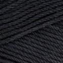 Sirdar Cotton DK Double Knit Knitting Yarn Crochet Craft 100g Ball Black