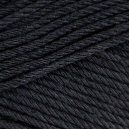 Sirdar Cotton DK Double Knit Knitting Yarn Crochet Craft 100g Ball Black