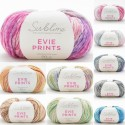 Sirdar Sublime Evie Prints Aran Weight Yarn Wool Super Soft 50g Ball