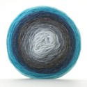 Sirdar Colourwheel DK Double Knit Knitting Yarn Cake 150g Ball Deep Blue Sea