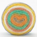 Sirdar Colourwheel Dazzle DK Double Knit Knitting Yarn Cake 150g Ball Tropical Twist
