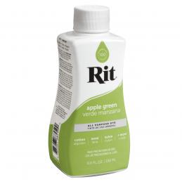 Rit Dye All Purpose Natural Fibre Fabric Liquid Dye 236ml in 34 Colours Apple Green