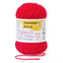 Schachenmayr My First Regia Baby Smiles 4 Ply Sock Wool Yarn 25g Mini Ball Rot