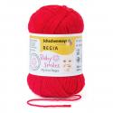 Schachenmayr My First Regia Baby Smiles 4 Ply Sock Wool Yarn 25g Mini Ball Rot