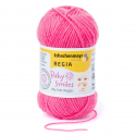 Schachenmayr My First Regia Baby Smiles 4 Ply Sock Wool Yarn 25g Mini Ball Pink