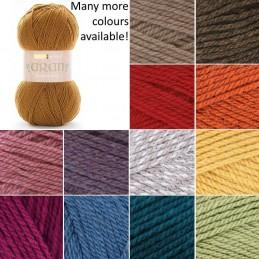 Sirdar Hayfield Bonus Aran Knitting Yarn 20% Wool 80% Acrylic 400g Giant Ball