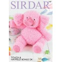 Sirdar Knitting Pattern 2487 Cuddly Soft Cute Elephant Touch Hayfield Bonus DK