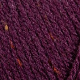 Sirdar Hayfield Bonus Aran Tweed Knitting Yarn 20% Wool 80% Acrylic 400g Ball Plum