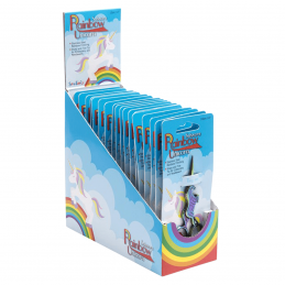 10cm Colourful Rainbow Unicorn Metallic Embroidery Scissors Small Thread Snipps