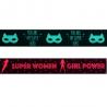 1 Metre x 25mm Super Hero Girl Polyester Satin Ribbon Gift Craft Berisfords