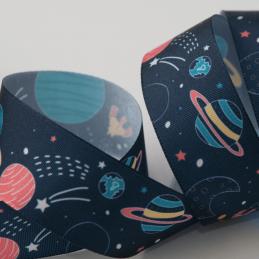Space Polyester Grosgrain Ribbon Craft Berisfords