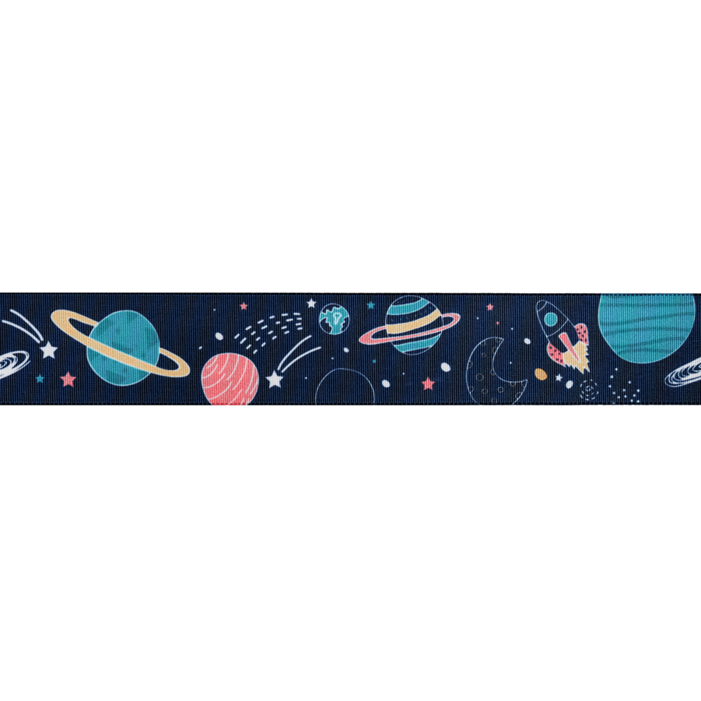Space Polyester Grosgrain Ribbon Craft Berisfords