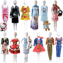 29cm Fashion Dolls Vervaco Couture Outfit Making Set Clothes Kids Crafts Disney