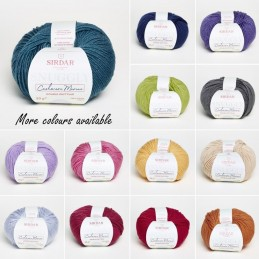 Sirdar Snuggly Cashmere Merino DK Double Knit Knitting Yarn Craft Wool 50g Ball