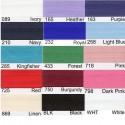 15mm Satin Bias Binding Tape 19 Colours