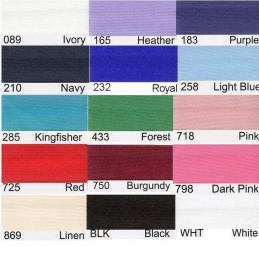 15mm Satin Bias Binding 2m or 20m 19 Colours