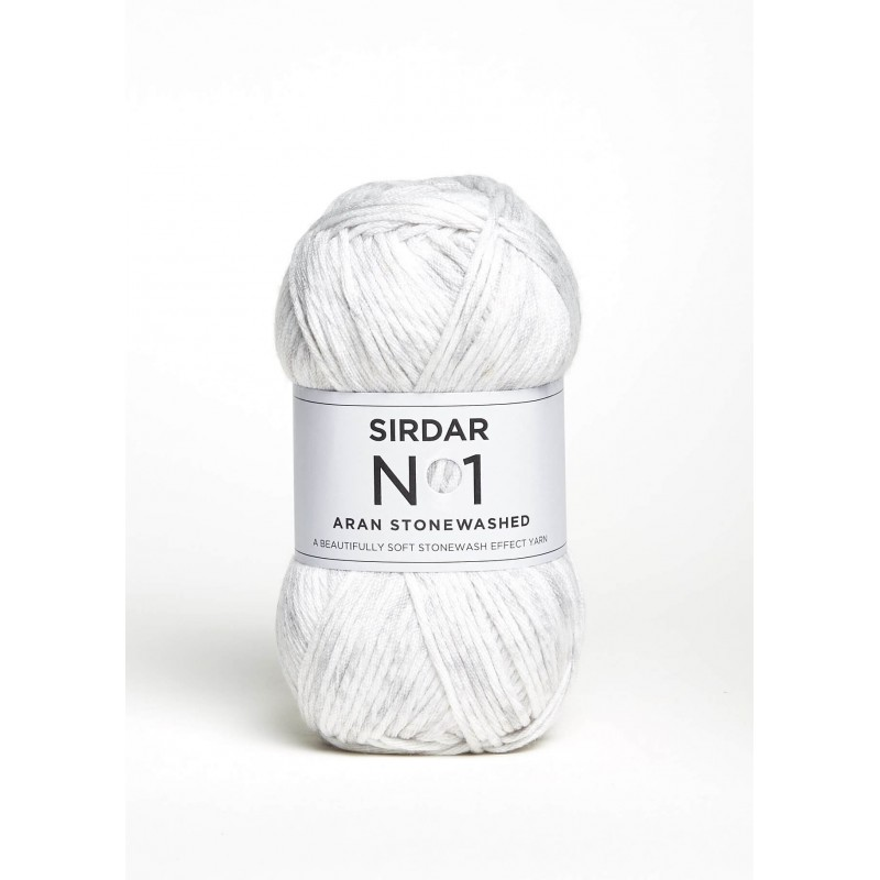 Sirdar No. 1 Aran Stonewashed Knitting Crochet Crafts Aran Weight 100g Ball Chalk Paint