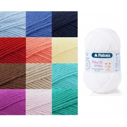 Patons Fairytale Merino Crocheting Knitting Mix DK Knit Yarn Craft Wool 50g Ball