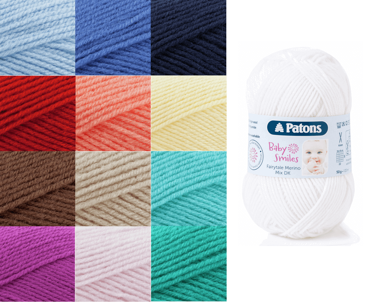 Patons Fairytale Merino Crocheting Knitting Mix DK Knit Yarn Craft Wool 50g Ball 1005 Beige
