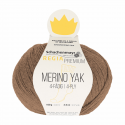 Regina Premium Merino & Yak Knitting Crochet Knit Yarn Craft Wool 100g Ball 7505 Powder Mix
