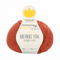 Regina Premium Merino & Yak Knitting Crochet Knit Yarn Craft Wool 100g Ball 7506 Peach Mix