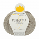 Regina Premium Merino & Yak Knitting Crochet Knit Yarn Craft Wool 100g Ball 7510 Beige Mix