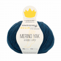 Regina Premium Merino & Yak Knitting Crochet Knit Yarn Craft Wool 100g Ball 7515 Midnight Blue Mix