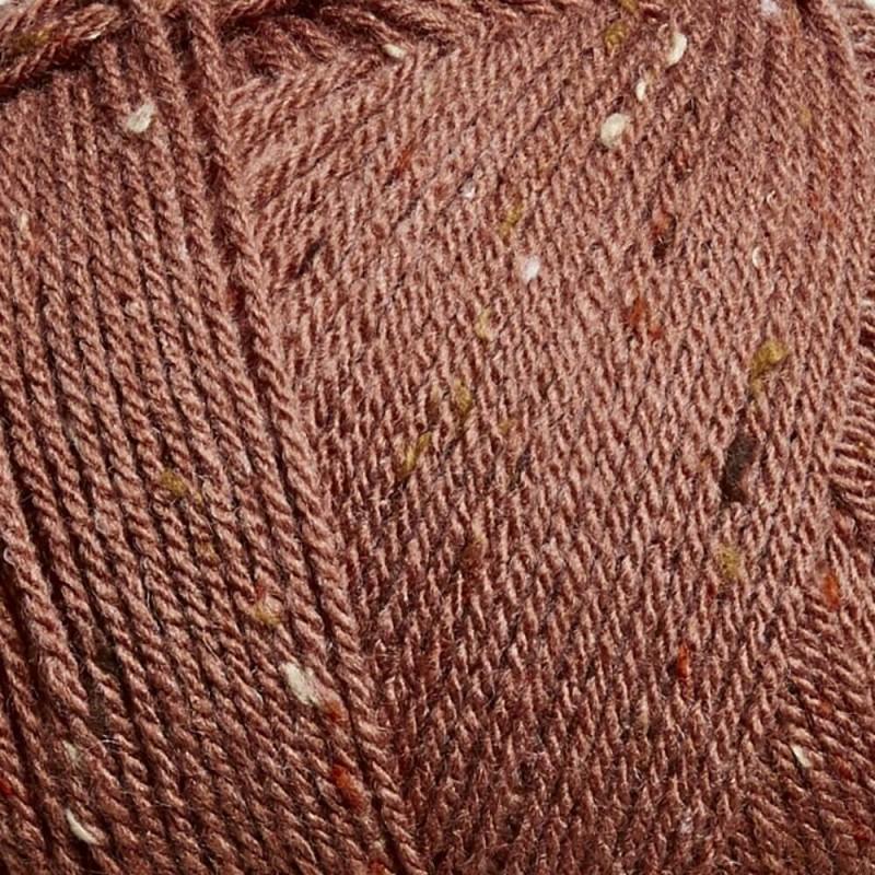 Sirdar Hayfield Bonus Aran Tweed Knitting Yarn 20% Wool 80% Acrylic 400g Ball Pecan Nut