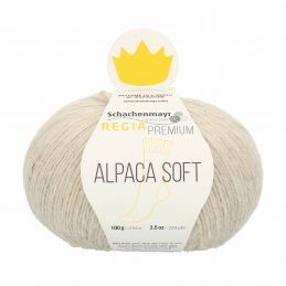 Regina Premium Soft Alpaca Knitting Crochet Knit Yarn Craft Wool 100g Ball 0002 Natural Mix