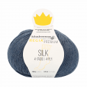 Regia Premium Silk 4 PLY Knitting Crochet Knit Yarn Craft Wool 100g Ball 0053 Jeans Mix