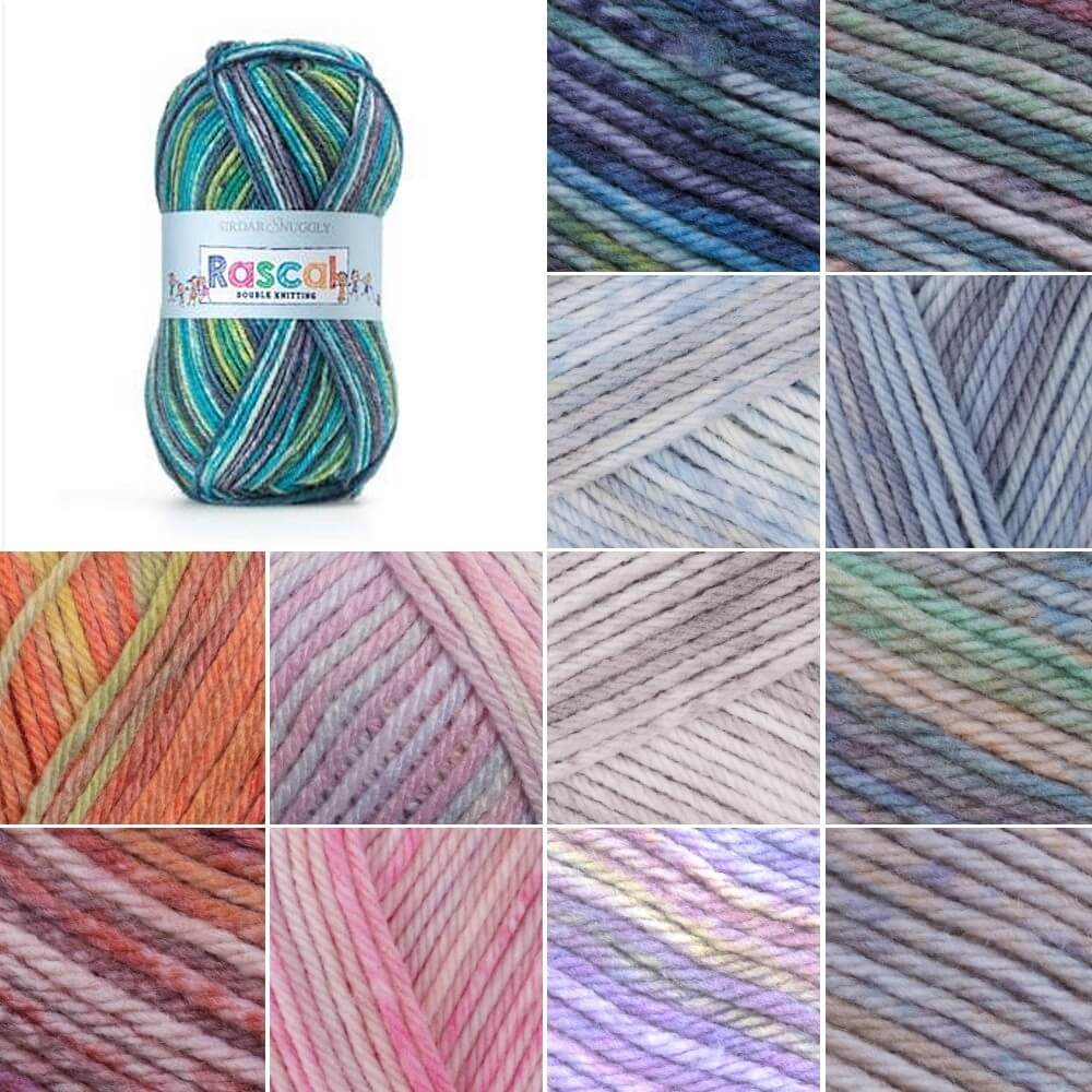 Sirdar Snuggly Rascal DK Double Knitting Baby Yarn Wool 50g Ball Bean Bag