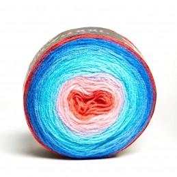 Sirdar Colourwheel DK Double Knit Knitting Yarn Cake 150g Ball Carnival