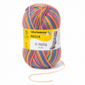 Regia Colour 4 PLY Knitting Crochet Knit Yarn Craft Wool Colourful 100g Ball 3726 Funstripe Exotic