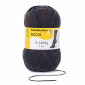 Regia Colour 4 PLY Knitting Crochet Knit Yarn Craft Wool Colourful 100g Ball 5097 Spot Graphit