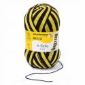 Regia Colour 4 PLY Knitting Crochet Knit Yarn Craft Wool Colourful 100g Ball 5391 Stadion Schwarz-Gelb