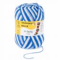 Regia Colour 4 PLY Knitting Crochet Knit Yarn Craft Wool Colourful 100g Ball 5395 Stadion Blau-Weiß