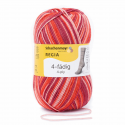 Regia Colour 4 PLY Knitting Crochet Knit Yarn Craft Wool Colourful 100g Ball 7387 Relax Fire
