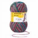 Regia Colour 4 PLY Knitting Crochet Knit Yarn Craft Wool Colourful 100g Ball 7707 Snowflake Schneeanzug