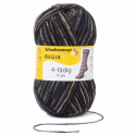 Regia Colour 4 PLY Knitting Crochet Knit Yarn Craft Wool Colourful 100g Ball 7711 Snowflake Schlittschuh