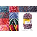 Regia Colour 4 PLY Knitting Crochet Knit Yarn Craft Wool Colourful 100g Ball